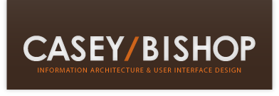 Casey Bishop - Information Architecture & User Interface Design